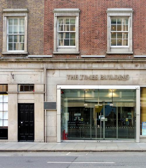 Dublin 02, D'Olier Street, Times Building