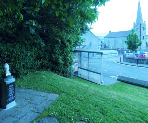 Letterkenny, Cathedral Square
