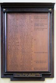 Royal Bank of Ireland Great War Memorial