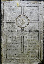 Thomas Behan Memorial