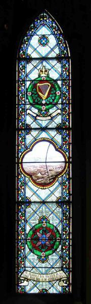 Royal Irish Regiment Crimea window