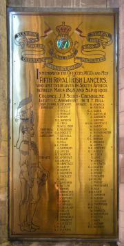 Fifth Royal Irish Lancers in South Africa