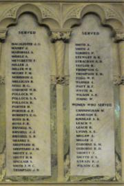 Findlater's Church Great War Memorial