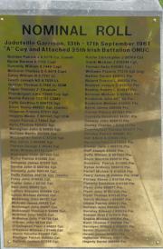Jadotville Memorial