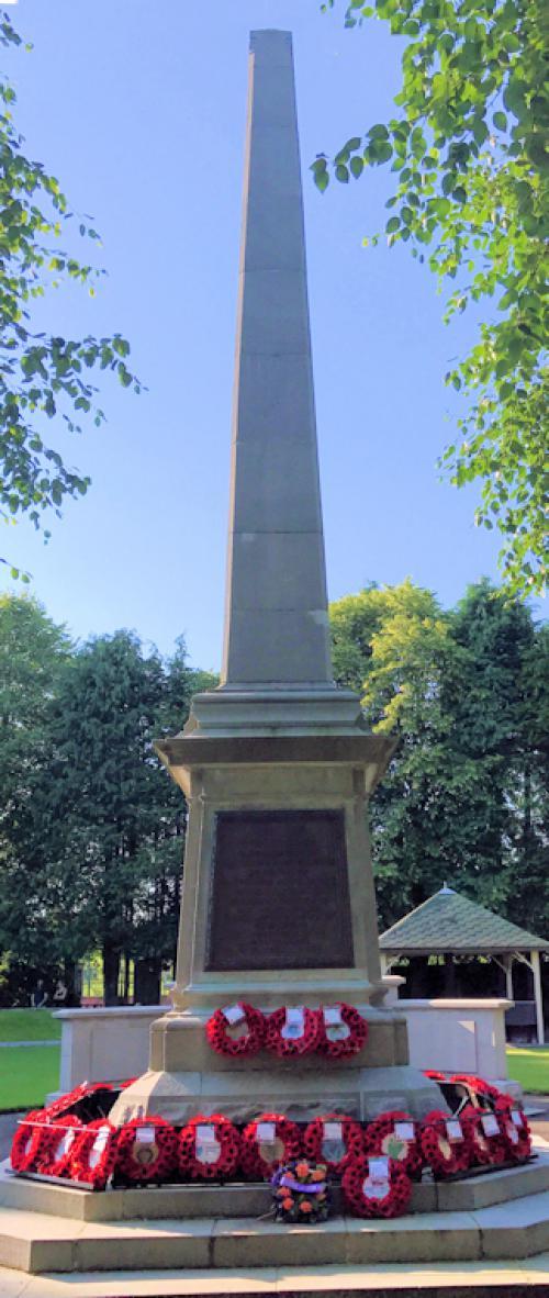 Ballymena WW I and Korean War Memorial