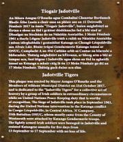 Jadotville Tigers Memorial