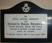 Robinson memorials