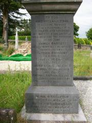 Donoughmore Cemetery I.R.A. Memorial