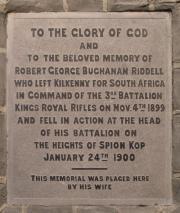 Buchanan Riddell Memorial