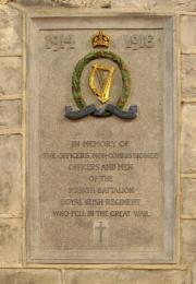 Royal Irish Regiment Great War Memorial