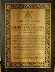 Gardiner Memorial