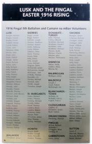 Fingal 1916 Memorial