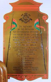 16th Lancers Soudan Memorial