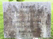McAllister Memorial