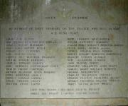 1939 - 1945 Memorial Plaque
