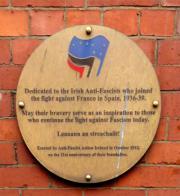 Irish Anti-Fascist Memorial