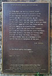 Tom Kettle Memorial