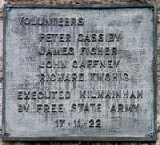 1922 Executions Memorial