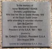 Margaret Kehoe Memorial