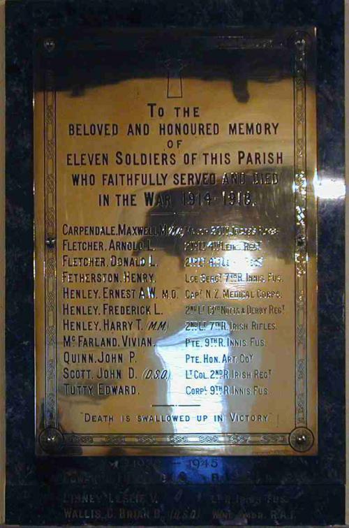 Rathmichael War memorial