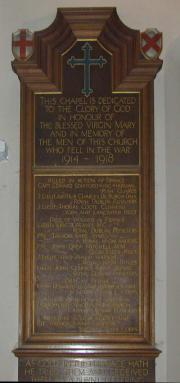 1914 - 1918 Memorial