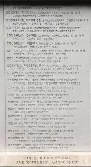 Midleton World War I Memorial