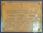 Crinken Great War Memorial