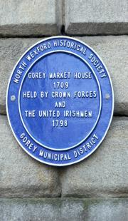 Gorey Market House 1798 Memorial