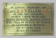Waller memorial