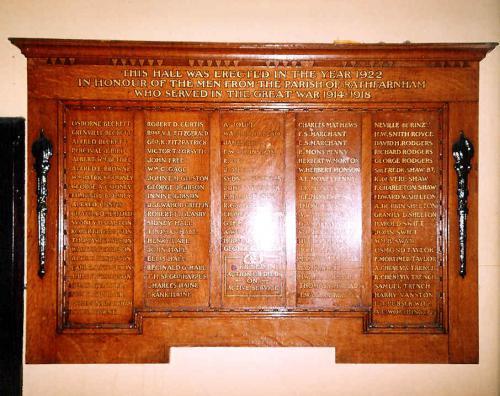 Dublin 06, Rathfarnham War Memorial Hall