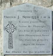 Denis Spriggs Memorial