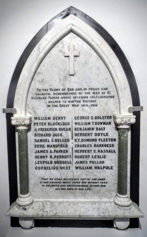 St. Nicholas's Church War Memorial