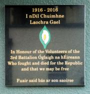 3rd. Bttn. Irish Volunteers Memorial