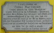 Thomas MacCurtain Memorial