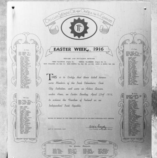 Irish Volunteers Roll of Honour