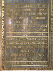 Madden Memorial