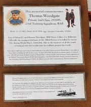 Thomas Woodgate Memorial
