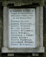 Killyleigh War Memorial
