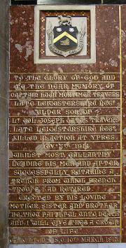 H. M. Travers Memorial
