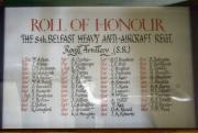 8th Belfast Heavy A.A. Regt. Memorial