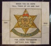Burma Star Association Memorial