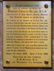 Reade Memorial