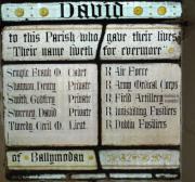 Ballymodan Parish War Memorial Window