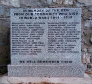 Allen Great War Memorial