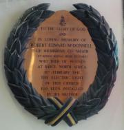 Robert Edward McDonnell Memorial