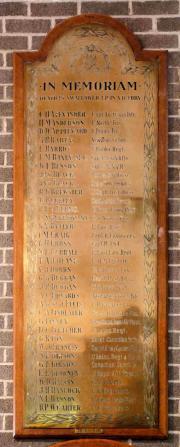 High School Great War Memorial