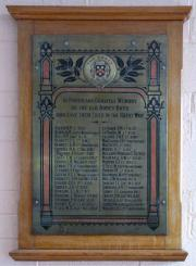 Abbey School Memorial