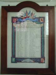 Killarney Roll of Honour