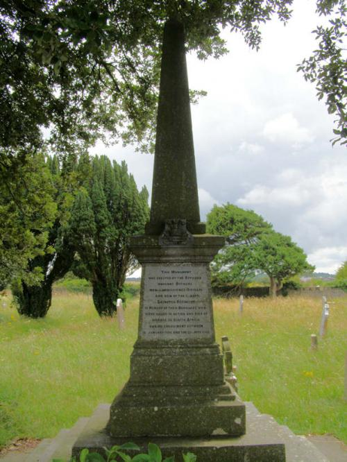 Leinster Regt. Boer War Memorial