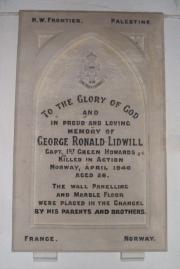 G. R. Lidwill Memorial